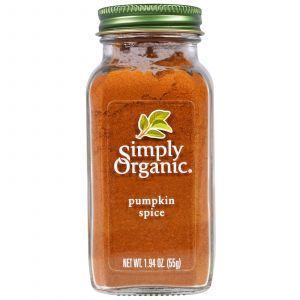 Тыквенная приправа, Pumpkin Spice, Simply Organic, 55 г