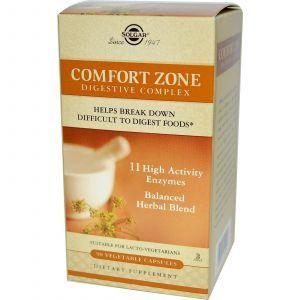 Пищеварительный комплекс (Comfort Zone), Solgar, 90