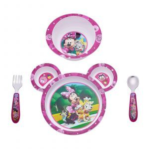 Набор для кормления Минни Маус, Feeding Set, The First Years, с 9 месяцев, 4 предмета