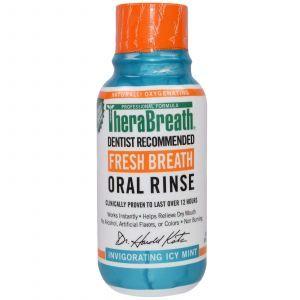 Ополаскиватель для рта с ароматом ледяной мяты, Oral Rinse, TheraBreath, 88,7 мл