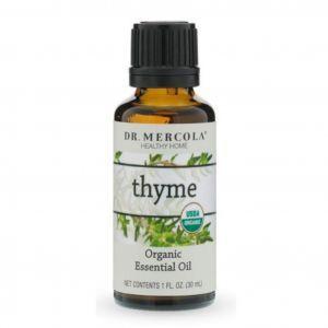 Эфирное масло тимьяна, Organic Essential Oil, Thyme, Dr. Mercola, 30 мл